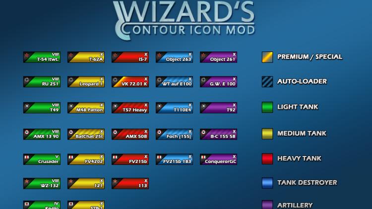 Wizard's Ikony 9.18