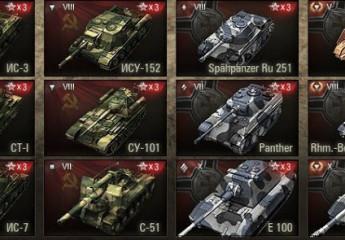 Kamuflážové ikony tankov 9.20