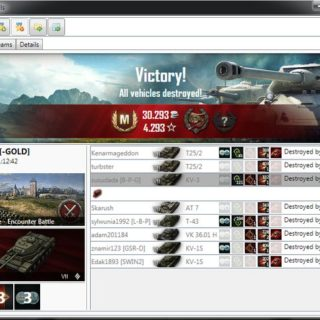WoT Replay Analyzer 9.20