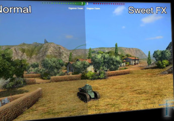 SweetFX + FXAA Graphics 9.15