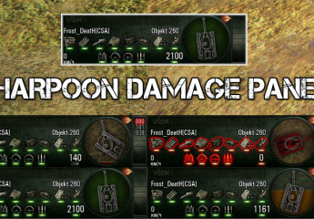 "Damage panel ""Harpoon"" 9.15"