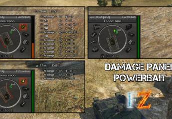 "Damage panel ""powerbait"" 9.14"