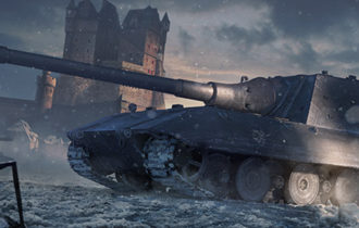 Na vrcholku stromu: Jagdpanzer E 100