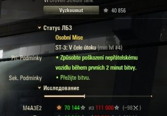 Tank exp. mod 9.15