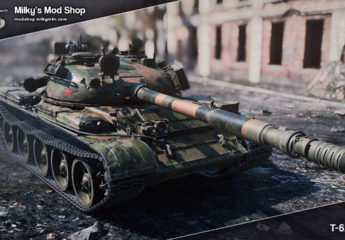 [remodel] T-62A