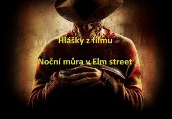 Hlášky: z filmu Noční můra v Elm street 9.17.0.1