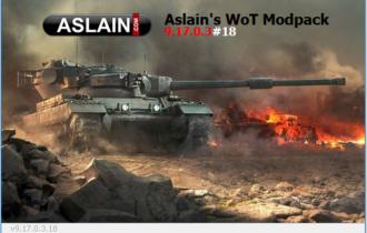 Aslain modpack 1.0.1