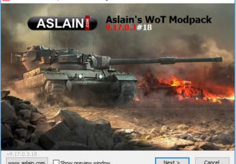 Aslain modpack 9.19.0.1