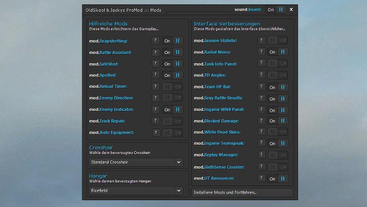 Modpack ProMod 1.0.2