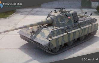 [remodel] E 50 Ausf. M