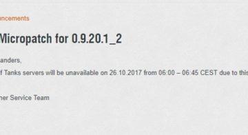 Mikro-aktualizácia 9.20.1.1